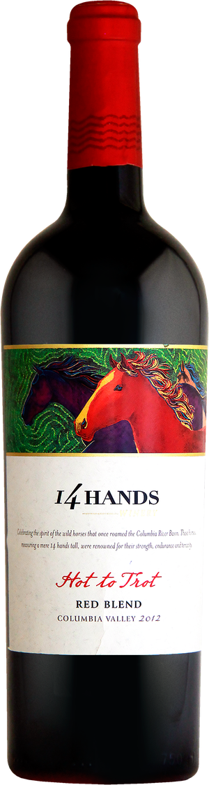 Rótulo 14 Hands Hot to Trot Red Blend