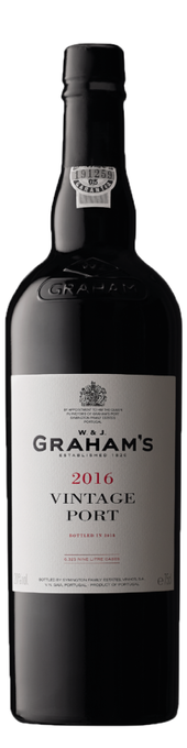 Rótulo Graham`s Vintage Port