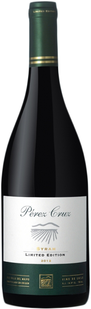 Rótulo Pérez Cruz Limited Edition Syrah