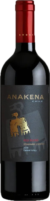 Rótulo Anakena Winemakers Selection Red Blend