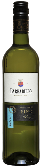 Rótulo Barbadillo Fino Sherry