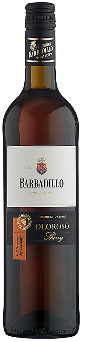 Rótulo Barbadillo Olosoro Sherry