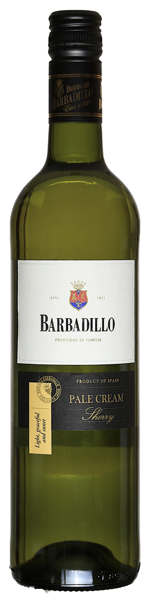 Rótulo Barbadillo Pale Cream Sherry