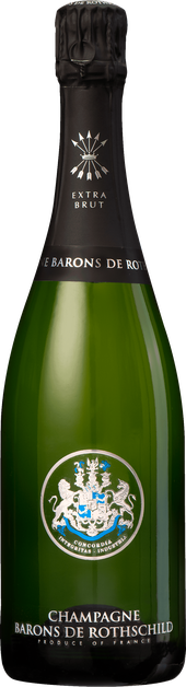 Rótulo Barons de Rothschild Champagne Extra Brut