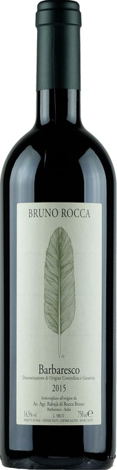 Rótulo Bruno Rocca Barbaresco