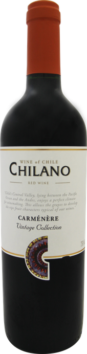 Rótulo Chilano Vintage Collection Carménère