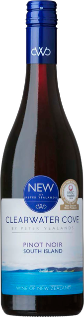 Rótulo Clearwater Cove South Island Pinot Noir