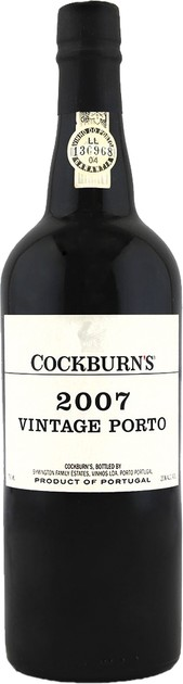 Rótulo Cockburn's Vintage Port