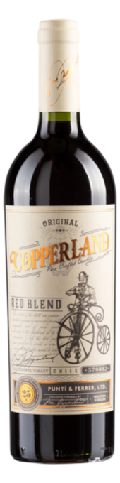 Rótulo Copperland Reserve Red Blend