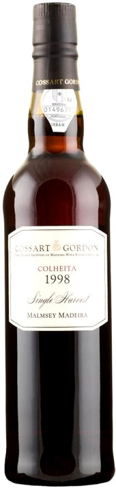 Rótulo Cossart Gordon Malmsey Single Harvest