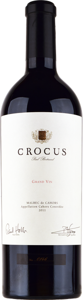 Rótulo Crocus Grand Vin