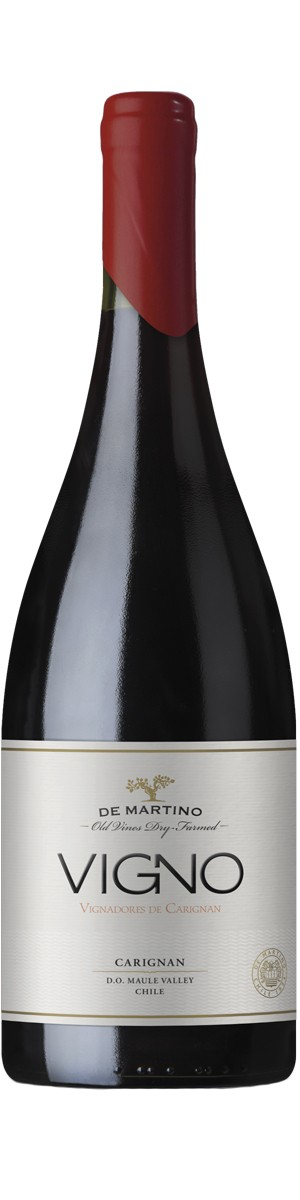 Rótulo De Martino Old Vines Dry Farmed Vigno Carignan
