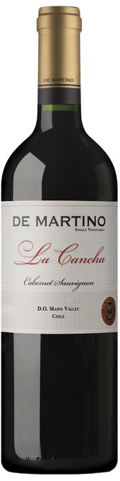 Rótulo De Martino Single Vineyard La Cancha Cabernet Sauvignon