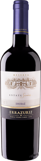 Rótulo Errazuriz Estate Series Reserva Shiraz