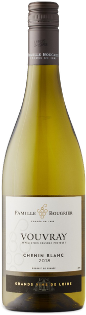 Rótulo Famille Bougrier Vouvray Chenin Blanc