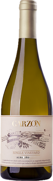 Rótulo Garzón Single Vineyard Albariño