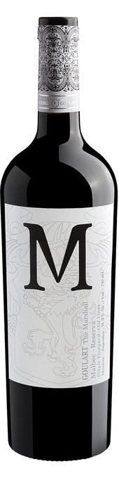 Rótulo Goulart M The Marshall Old Vines Malbec