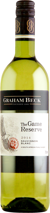 Rótulo Graham Beck The Game Reserve Sauvignon Blanc
