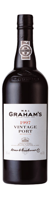 Rótulo Graham's Vintage Port