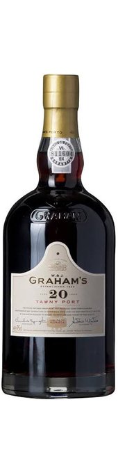 Rótulo Graham's 20 Years Old Tawny