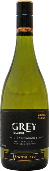 Rótulo Grey Single Block Longomilla Vineyard Sauvignon Blanc