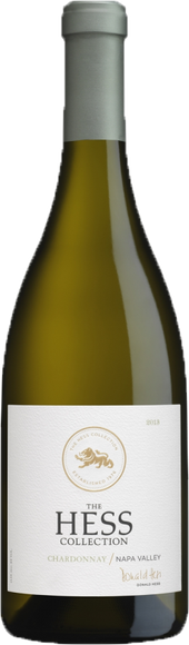 Rótulo Hess Collection Chardonnay
