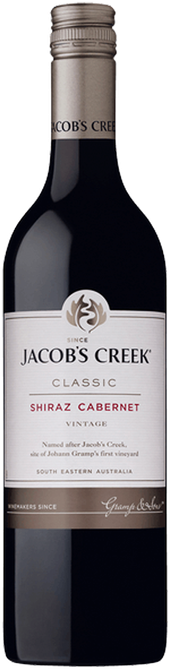 Rótulo Jacob´s Creek Classic Shiraz Cabernet