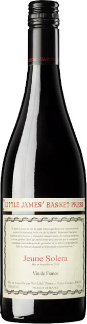 Rótulo Little James Basket Press Rouge Jeune Solera