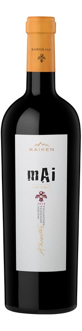 Rótulo Kaiken Mai The First Malbec