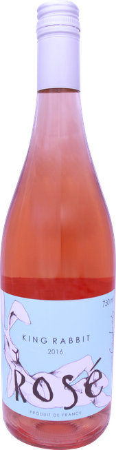 Rótulo King Rabbit Rosé