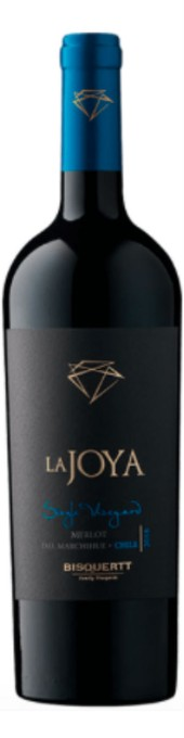 Rótulo La Joya Single Vineyard Merlot
