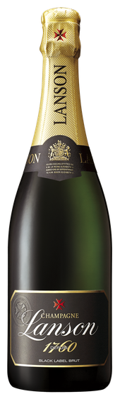 Rótulo Lanson Black Label Brut