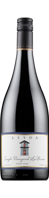 Rótulo Leyda Single Vineyard Las Brisas Pinot Noir
