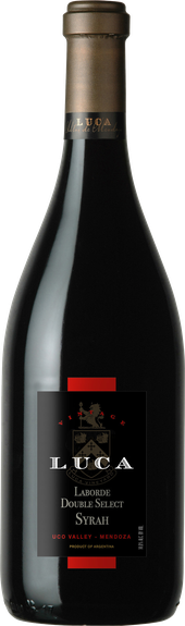 Rótulo Luca Laborde Double Select Syrah