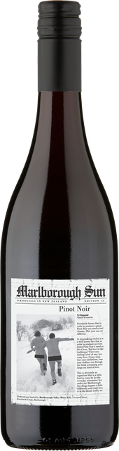 Rótulo Marlborough Sun Pinot Noir
