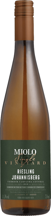 Rótulo Miolo Single Vineyard Riesling Joannisberg
