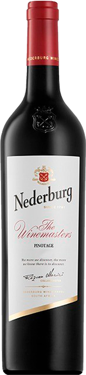 Rótulo Nederburg The Winemaster´s Pinotage