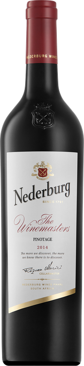 Rótulo Nederburg The Winemasters Pinotage