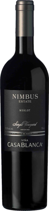 Rótulo Nimbus Single Vineyard Merlot