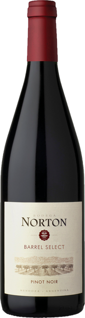 Rótulo Norton Barrel Select Pinot Noir