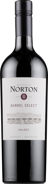 Rótulo Norton Barrel Select Malbec