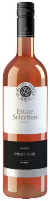 Rótulo Puklavec Estate Selection Pinot Noir Rosé
