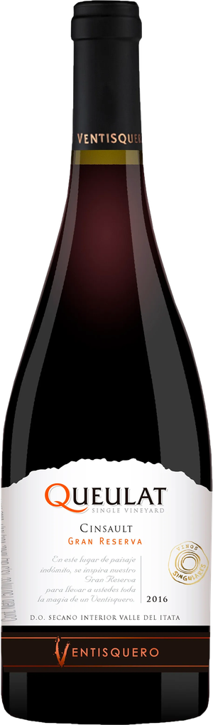 Rótulo Queulat Single Vineyard Cinsault