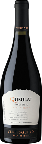 Rótulo Queulat Single Vineyard Gran Reserva Pinot Noir