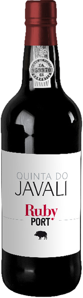Rótulo Quinta do Javali Ruby Port