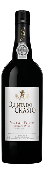 Rótulo Quinta do Crasto Vintage Port