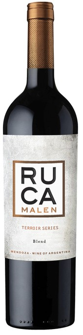 Rótulo Ruca Malen Terroir Series Agrelo Blend