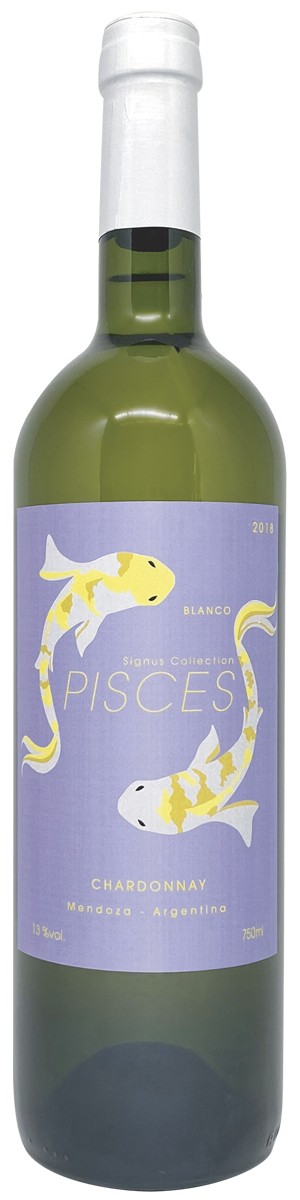 Rótulo Signus Collection Pisces Chardonnay