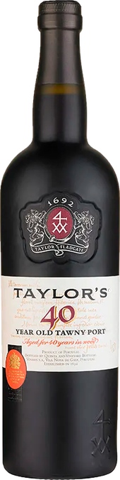 Rótulo Taylor's 40 Years Old Tawny Port