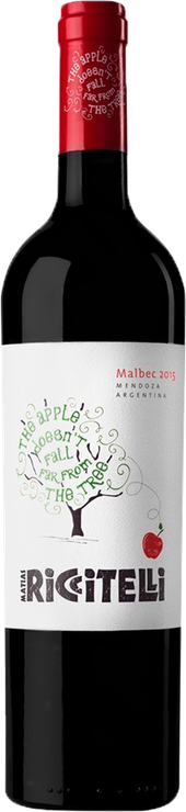 Rótulo The Apple Doesn't Fall Far From The Tree Malbec